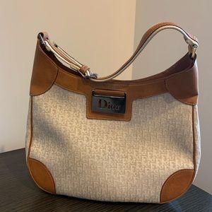 Christian Dior shoulder bag.  Fabric